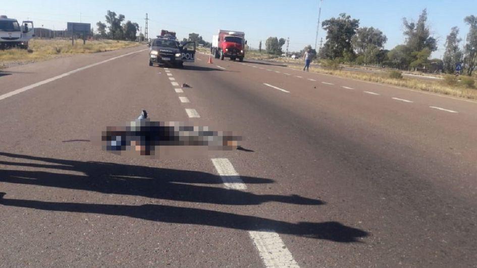 Un hombre murió atropellado cuando cruzaba la ruta 40 en Luján