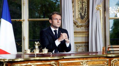 Discurso al país. Macron tenía previsto anunciar grandes medidas, pero el incendio en Notre Dame cambió sus planes.