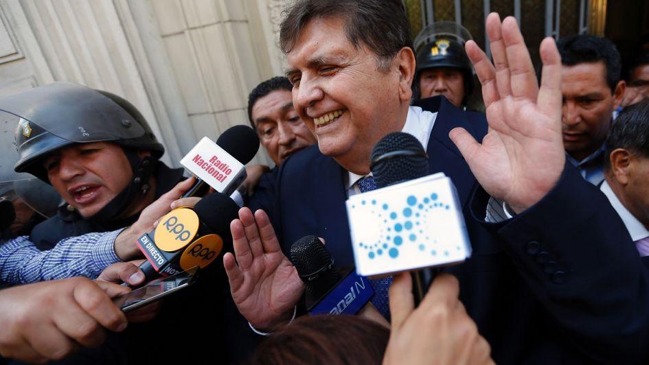 Expresidente de Perú, Alan García, se disparó cuando intentaron capturarlo