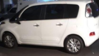 El auto que fue robado.