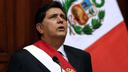 García fue presidente de Perú entre 1985-1990 y 2006-2011.