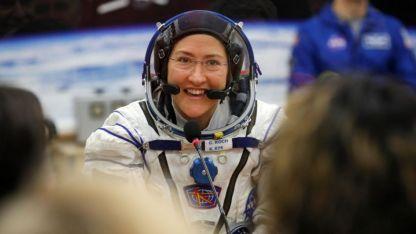 Christina Koch. La astronauta que permanecerá 11 meses en órbita.