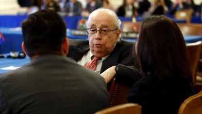 En la ONU. Gustavo Tarre, el representante venezolano.