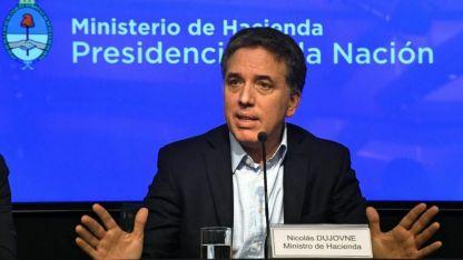 Nicolás Dujovne, ministro de Hacienda de la Nación