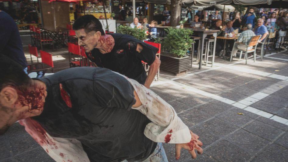 Encuentro Comecoco: una invasión zombi amenazó la Ciudad