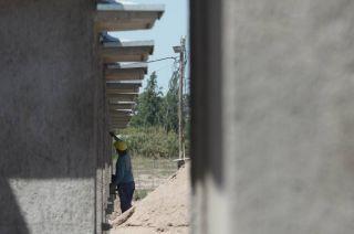 Construcción y el sueño de la casa propia.