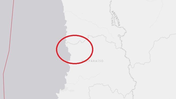 Un sismo alteró la calma de quienes vacacionan en Chile