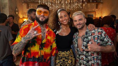 Farruko, Alicia Keys y Capó.