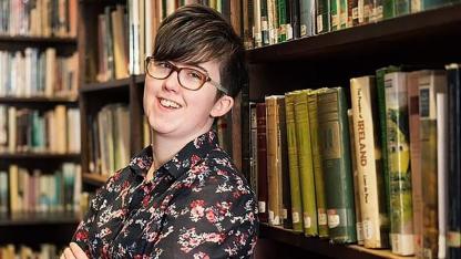 Lyra McKee. La periodista asesinada en Irlanda.