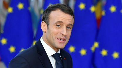 """Optimista. Tras la restauración, Macron dijo que Notre Dame quedará """"más bonita que antes""""."""