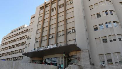 Hospital Central. Uno de los centros públicos más completos de la provincia y donde se realizan cada vez más cirugías.