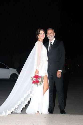 Fotogalería: se casó Jorge Rial con Romina Pereiro, su novia nutricionista