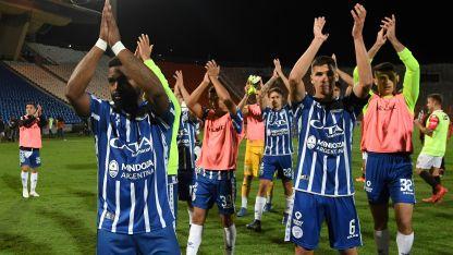 Un gol. Suma García en la actual Libertadores. Fue en la derrota 1-2 en Asunción, conta Olimpia.