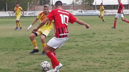 En Villa Nueva. El Equipo de Alaniz fue más, pero no pudo capitalizar esa superioridad en la red.