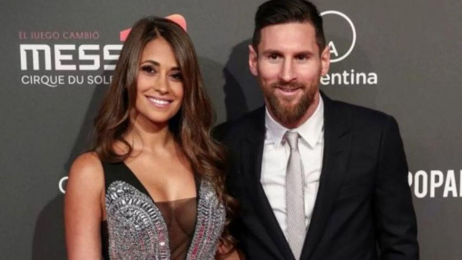 La foto inédita de Lionel Messi y Antonella Rocuzzo cuando tenían 10 años