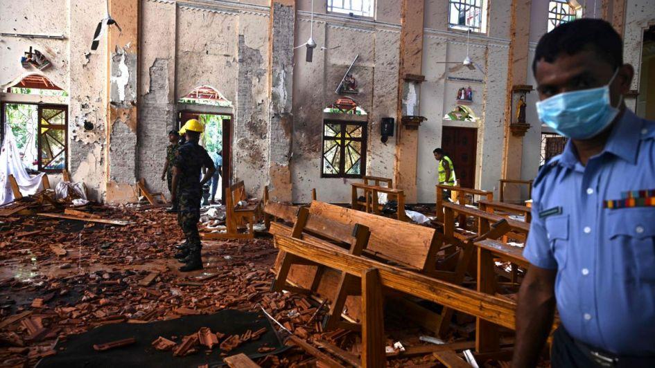 Ascienden a 290 los muertos tras los ataques terroristas de Sri Lanka