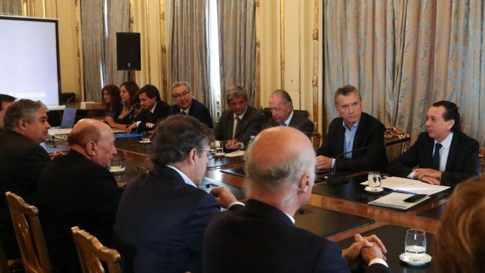 Acuerdo de precios: Macri prometió a empresarios reformas impositivas si es reelecto