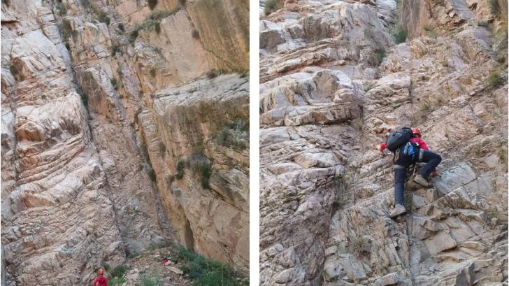 Angustiante rescate de dos jóvenes escaladores en cerros de Blanco Encalada