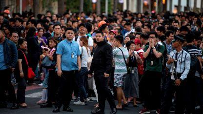 Los ciudadanos evacuados.