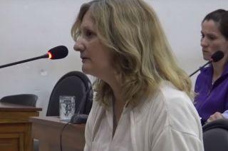 Carcía Cobos, una de las docentes sospechadas.