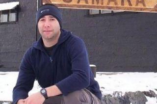Ricardo Alfaro (37) cocinero del Ara San Juan.