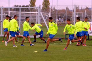 Motivados. Así llegan los jugadores del Expreso al duelo de hoy. El equipo viene de avanzar en la Copa Superliga.