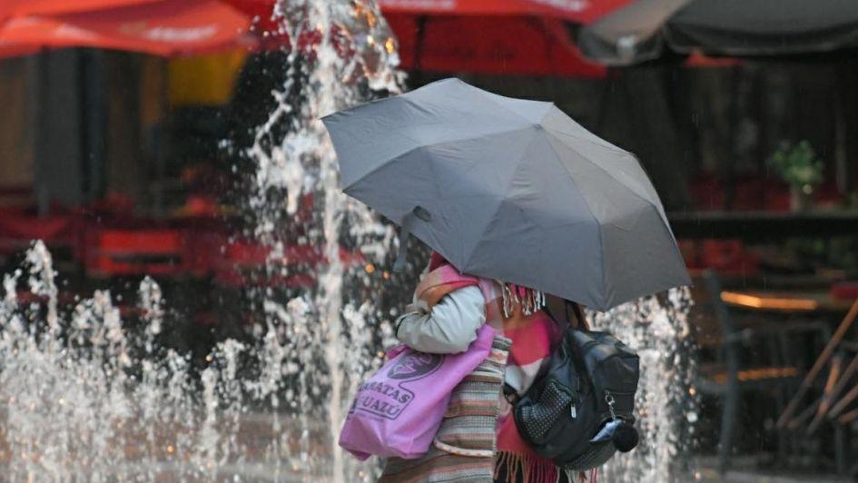 Amaneció lloviendo en algunos puntos de Mendoza: qué dice el pronóstico para este martes