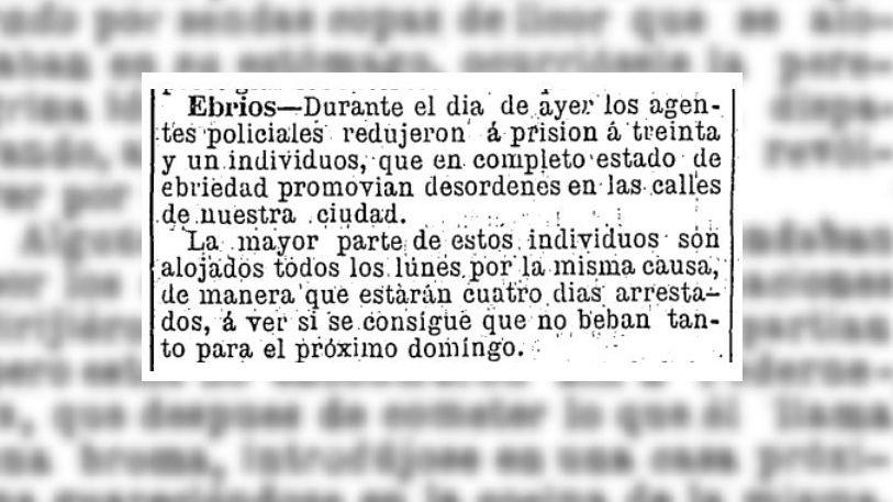 """""""Adoradores de Baco"""": así se les decía a los ebrios de fines del siglo XIX en Los Andes"""