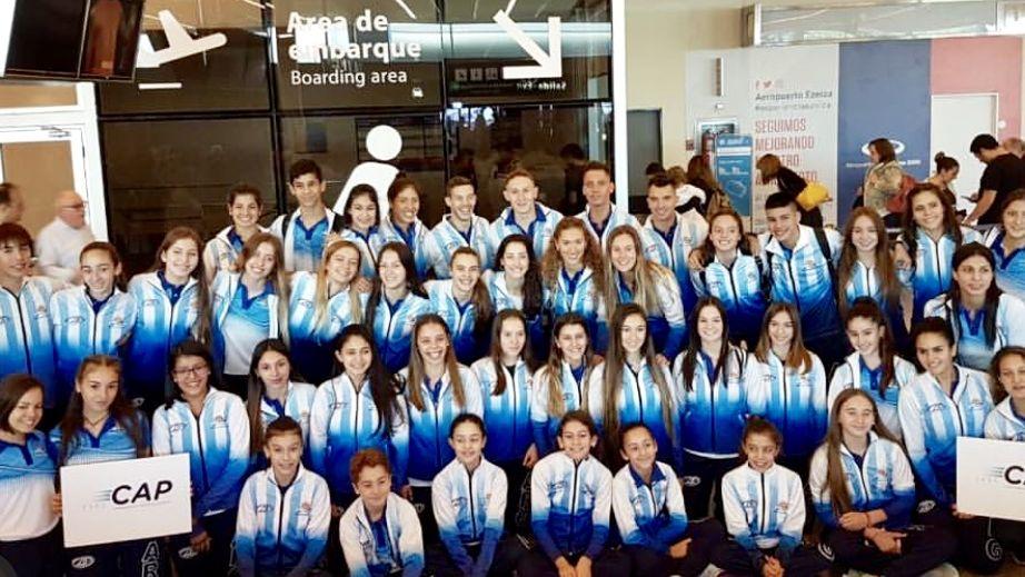 Argentina la rompe en el Sudamericano de patinaje en Brasil