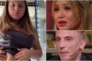 Sol, la hija de Karina y El Polaco, conmovió con un clip contra el bullying que sufre