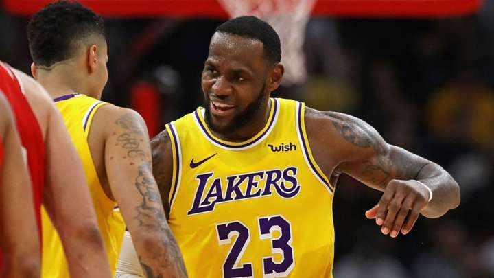 LeBron James logra su primer 'título' con Los Angeles Lakers