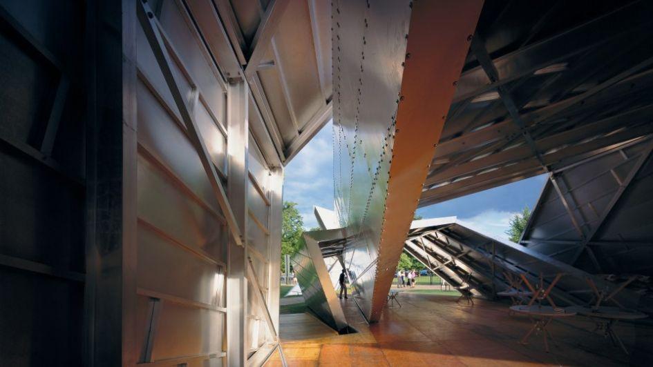 Daniel Libeskind y el pabellón