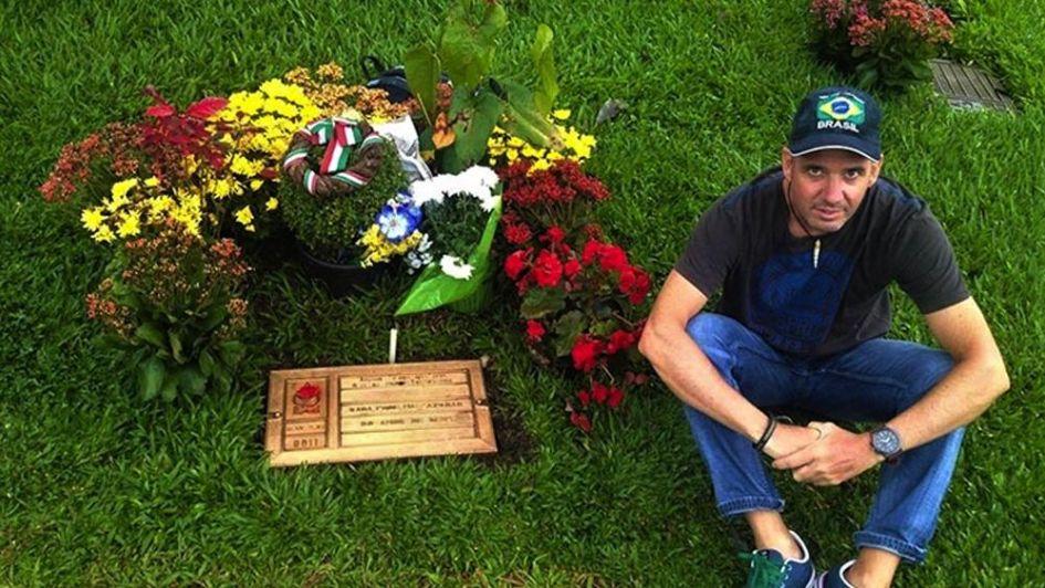 San Pablo: la tumba de Ayrton Senna en Morumbí