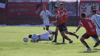 Figura. Sergio Sánchez junto a Aguirre fue pura entrega y el  motor del Cruzado en el segundo tiempo.
