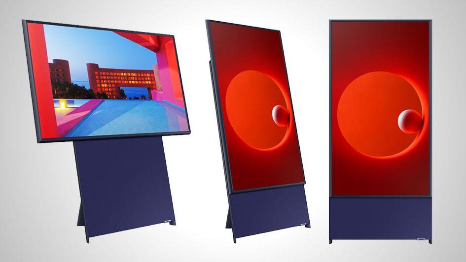 ¿Tendencia o locura? Samsung lanza un televisor vertical pensado para millennials
