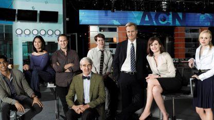 The Newsroom. Con tres temporadas, es una de las series más sagaces que tiene como protagonistas a periodistas.