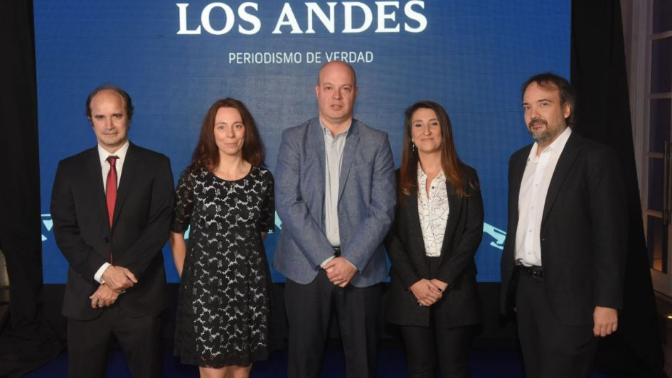 Los Andes presentó su nueva imagen a los mendocinos