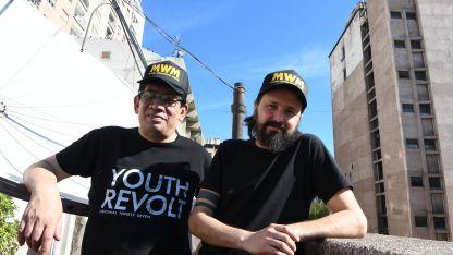 Victor López y Alejandro Fadel visitaron la redacción de Los Andes