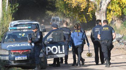 Policía Científica levantó más de 15 vainas servidas de la escena del crimen.