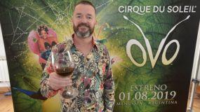 Patrick Flynn, representante de la región de Cirque du Soleil