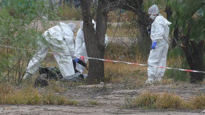 Escenario. El cuerpo de la joven víctima había sido desgarrado por perros de la zona. Presentaba mayores daños en la cabeza.