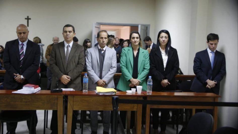 Reacciones en una sala llena, tras la primera condena de un jurado popular en el Sur