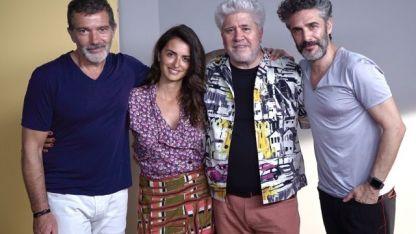 Leonardo Sbaraglia trabaja aquí con Almodóvar por primera vez.