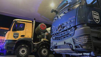 El promedio en Mendoza es cien camiones por mes. El mes pasado se vendieron 65.