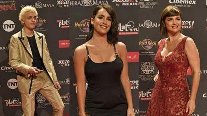 Alfombra Roja de los Premios Platino