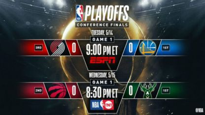 Cabe aclarar que Golden State (Oeste) y Milwaukee (Este), arrancan las finales en condición de local