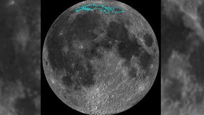 A diferencia de nuestro planeta, la Luna no tiene placas tectónicas.