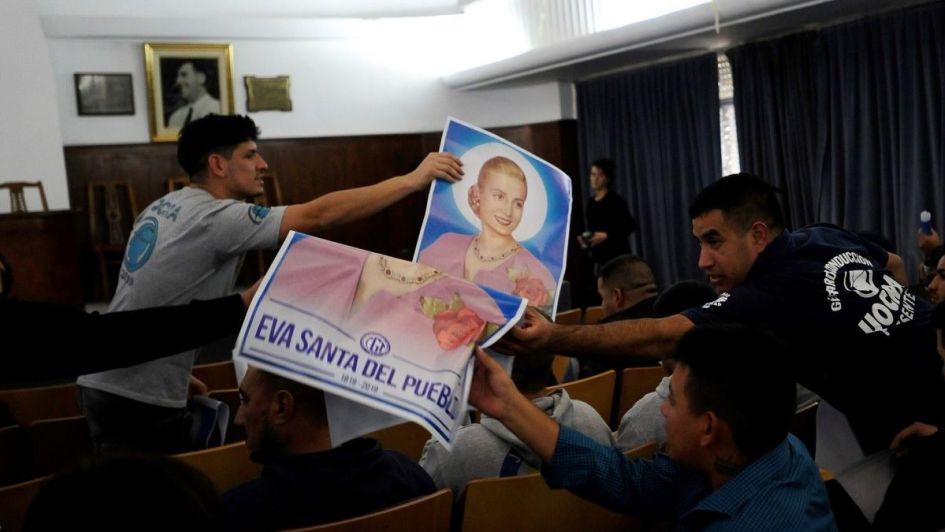 La CGT pide al Papa la beatificación de Eva Perón - Actualidad