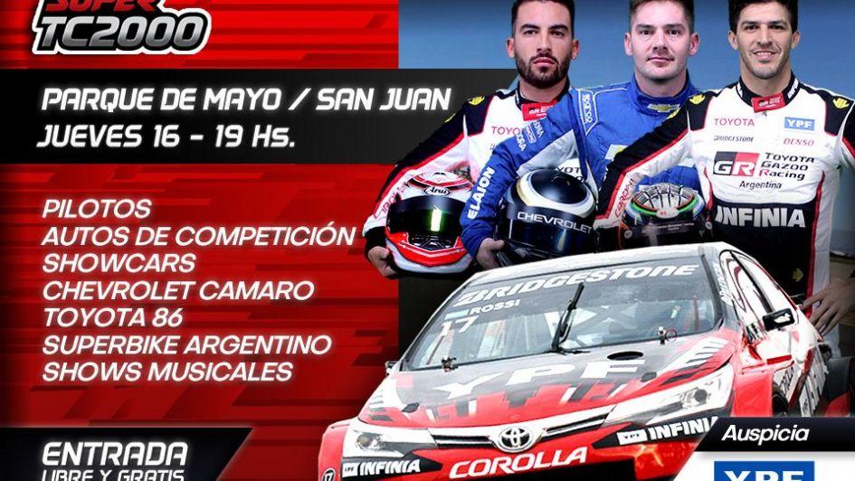 Ganate entradas para el Súper TC2000 en San Juan