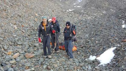 Los rescatistas tardaron 12 horas en llegar al lugar del hallazgo
